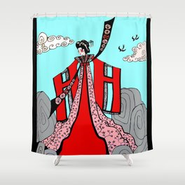 Return Of The Swallows Shower Curtain