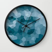 gem Wall Clocks featuring gem by annmariep