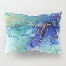 Electric Waves Violet Turquoise - Part 2 Pillow Sham