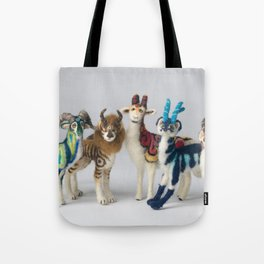 Fantastic Felted Beasts Tote Bag