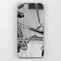 70s iPhone & iPod Skins featuring 70s Iconic Bike Uk by Paul & Fe Photography