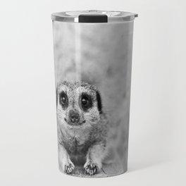 Smiling Meerkat Travel Mug
