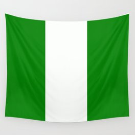 Flag of Nigeria Wall Tapestry