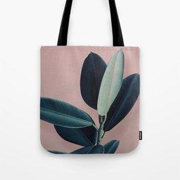Ficus elastica - berry Tote Bag