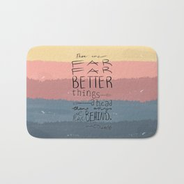 Far Better Things Bath Mat