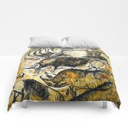 Panel of Rhinos // Chauvet Cave Comforters