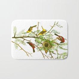 Orchard Oriole Bird Bath Mat