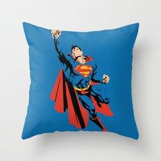 DC - Superman Throw Pillow