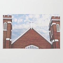 Red Brick Church Rug