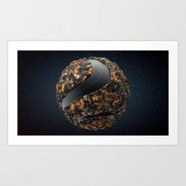 I Like Sphere - Interceptions Art Print