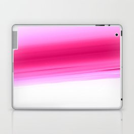 Pink White Smooth Ombre Laptop & iPad Skin
