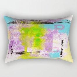 Abstract Life Rectangular Pillow