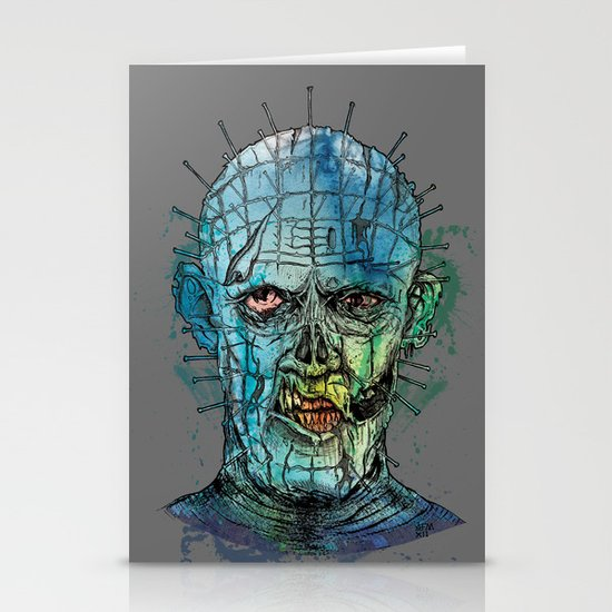 Zombie Raiser Stationery Cards