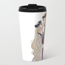 Flower Crown Lovers Travel Mug