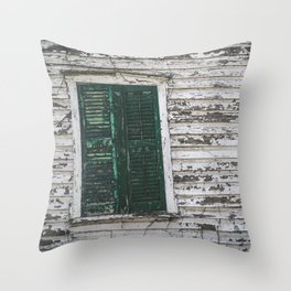 Crooked with Age Throw Pillow