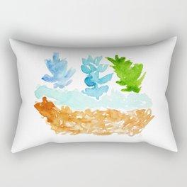 teco verde Rectangular Pillow