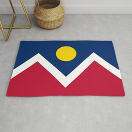 Denver City Flag Rug