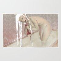 bath Area & Throw Rugs featuring Bath by Natalie Lucht