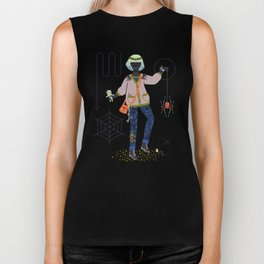Witch Series: Voodoo Doll Biker Tank