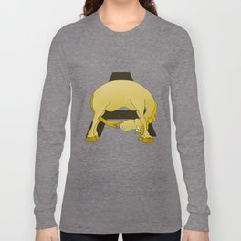 Pony Monogram Letter A Long Sleeve T-shirt