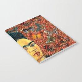 FRIDA bUTTERFLYS Notebook