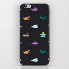 Sea slug - black iPhone & iPod Skin
