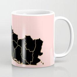 El Salvador map Coffee Mug