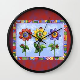 The Three Amigos III Wall Clock