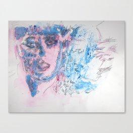 Sci-fi Portrait 2 - Blade Runner - Rachael  Canvas Print