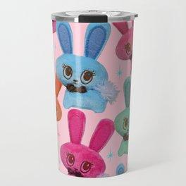 Cute Fluffy Bunnies Travel Mug