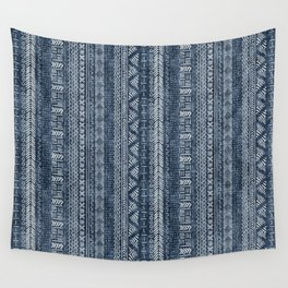 Mud Cloth Stripe Wall Tapestry