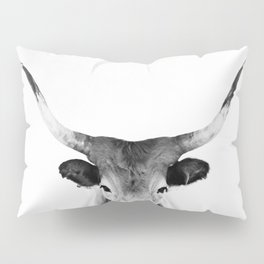 Honey - black and white Pillow Sham