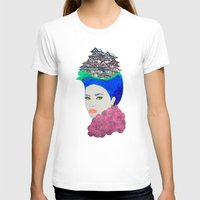 japan T-shirts featuring Japan by Luna Portnoi