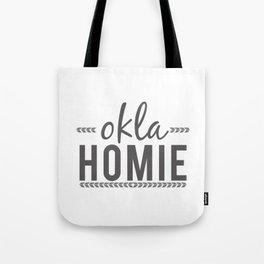 OKLA HOMIE - Oklahoma Love Tote Bag