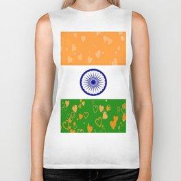 Love India-458 Biker Tank
