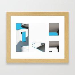 Skymetric • 3 Framed Art Print