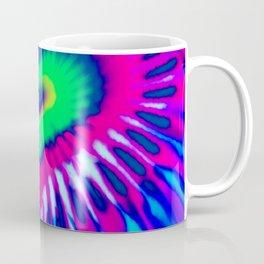 Digital Heart Tie-Dye - Awesome Abstract Paint Coffee Mug