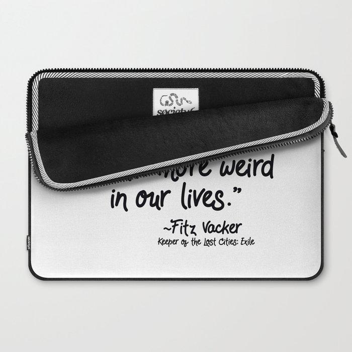 Fan-favorite Fitz Quote Laptop Sleeve