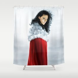 Loki - Burdened with Glorious Purpose XIII Version I Shower Curtain