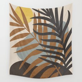 Abstract Tropical Art IV Wall Tapestry