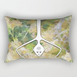 Handstand Rectangular Pillow