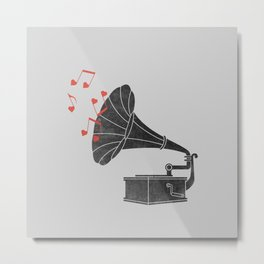 Love Song Metal Print