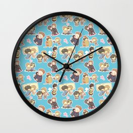 Chibilock Pattern Wall Clock