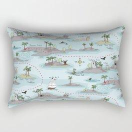Dangerous waters Rectangular Pillow