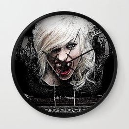 Sexy Female Vampire Wall Clock