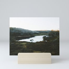 Rainbow Lake Sunrise Mini Art Print