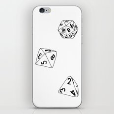 Dungeons and Dragons Dice iPhone Skin