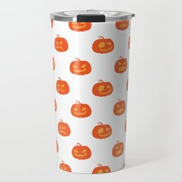 Scary Pumpkins Halloween Day Travel Mug