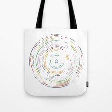 Rainbow Record Tote Bag