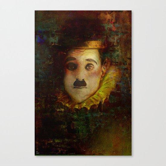 Portrait of a myth Canvas Print